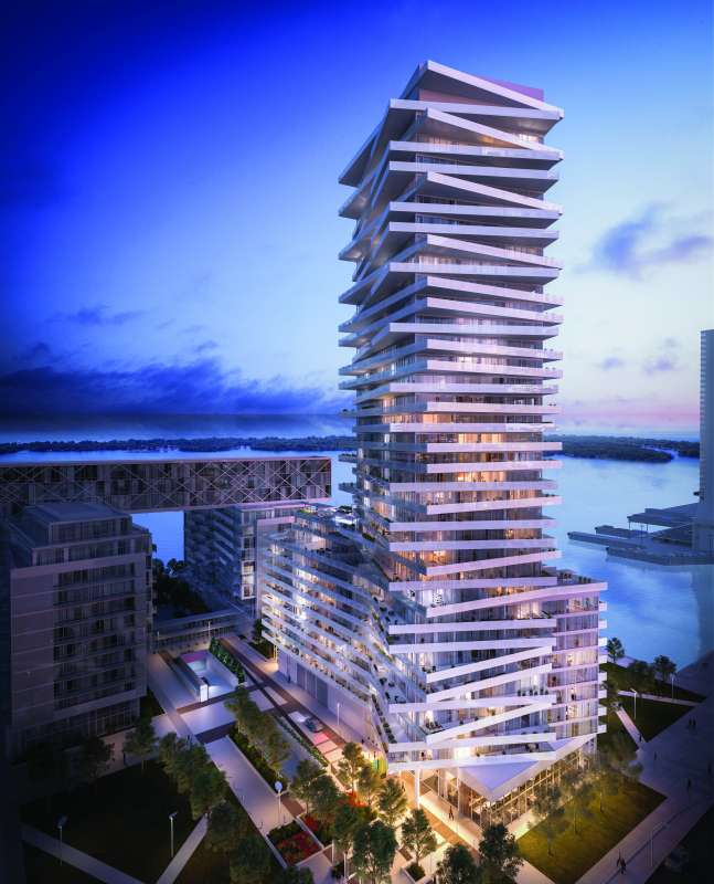 Pier 27 Tower at Queens Quay East and Freeland Street, Toronto, Ontario. Image 3