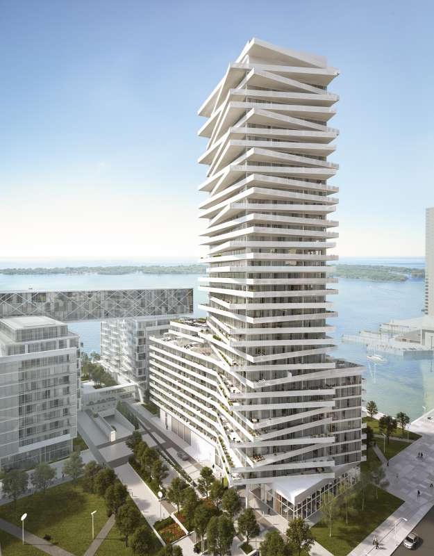Pier 27 Tower at Queens Quay East and Freeland Street, Toronto, Ontario. Image 5