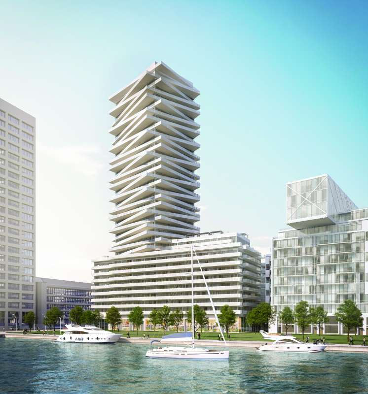 Pier 27 Tower at Queens Quay East and Freeland Street, Toronto, Ontario. Image 8
