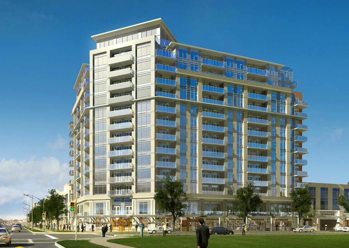 The Residences at South Unionville Square at 8323 Kennedy Road, Markham, Ontario. Image 3