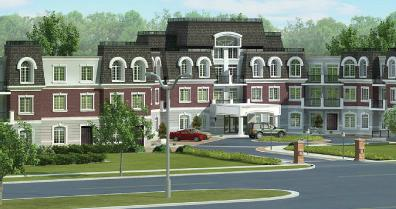 The Balmoral Condominium at Bronte Road and Upper Middle Road W, Oakville, Ontario. Image 1