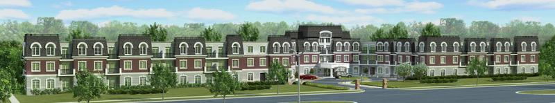 The Balmoral Condominium at Bronte Road and Upper Middle Road W, Oakville, Ontario. Image 2