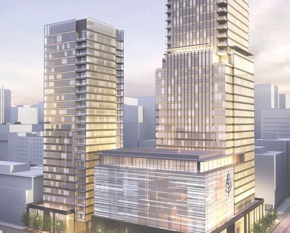 Four Seasons - West Tower at 60 Yorkville Avenue, Toronto, Ontario. Image 3