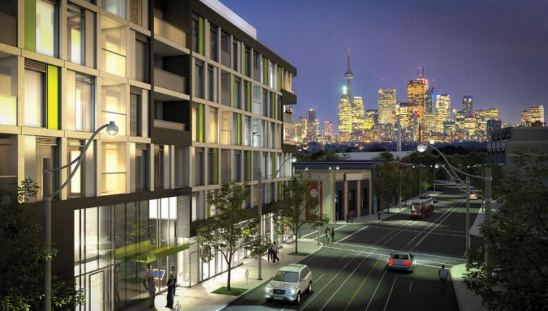 Beach Hill Residences at Woodbine Ave & Gerrard St E, Toronto, Ontario. Image 1