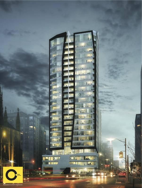 Core Condos at 64 Shuter Street, Toronto, Ontario. Image 2