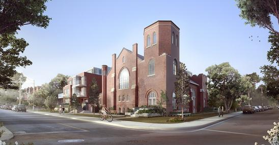 Arch Lofts at 243 Perth Ave., Toronto, Ontario. Image 2