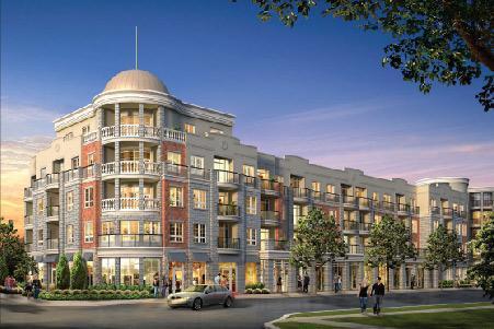 The Renaissance Condominiums - Oak Park at Trafalgar Rd & Dundas St E, Oakville, Ontario. Image 1