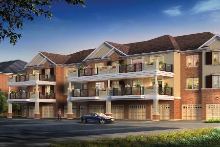 The Renaissance Condominiums - Oak Park at Trafalgar Rd & Dundas St E, Oakville, Ontario. Image 2