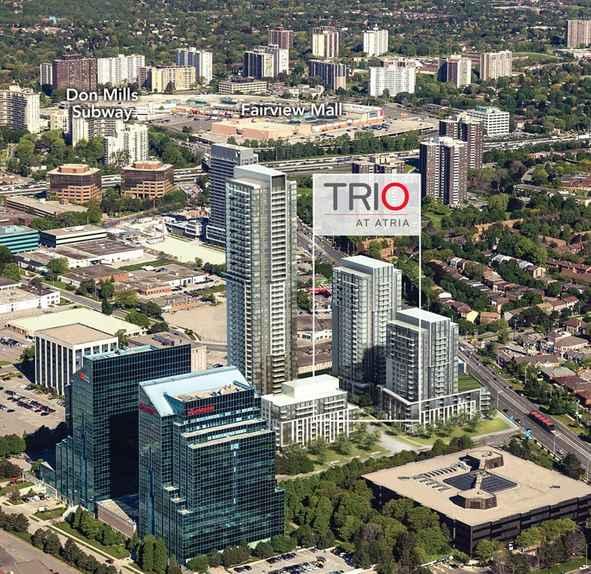 Trio at Atria at 50 Ann O'Reilly Road, Toronto Central, Ontario. Image 4