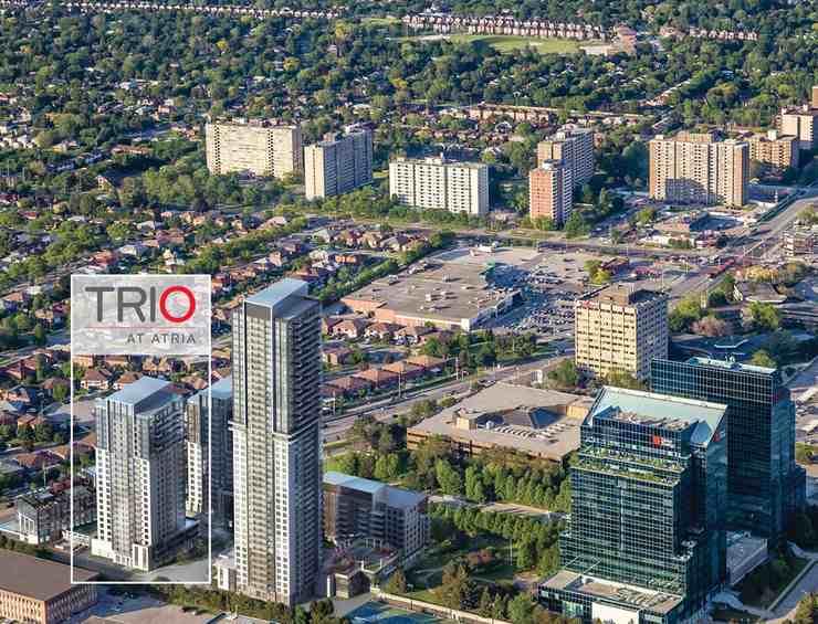 Trio at Atria at 50 Ann O'Reilly Road, Toronto Central, Ontario. Image 7