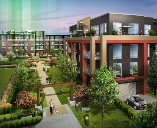 Park City Condominiums at Walkers Line & Upper Middle Rd, Burlington, Ontario. Image 2