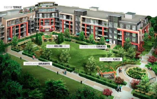 Park City Condominiums at Walkers Line & Upper Middle Rd, Burlington, Ontario. Image 3