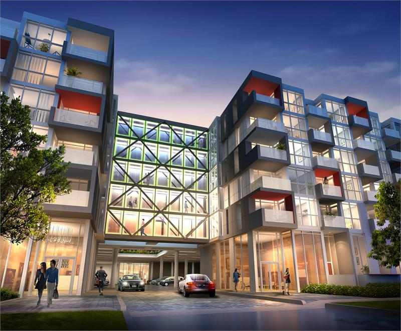 Link Condos + Towns at Dundas Street & Sutton Drive, Burlington, Ontario. Image 4