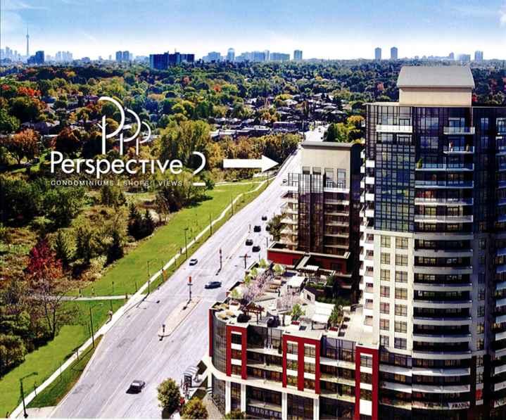 Perspective 2 at Eglinton Avenue West & Scarlett Road, Toronto, Ontario. Image 1