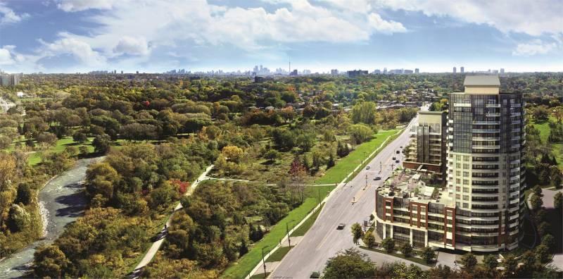 Perspective 2 at Eglinton Avenue West & Scarlett Road, Toronto, Ontario. Image 3