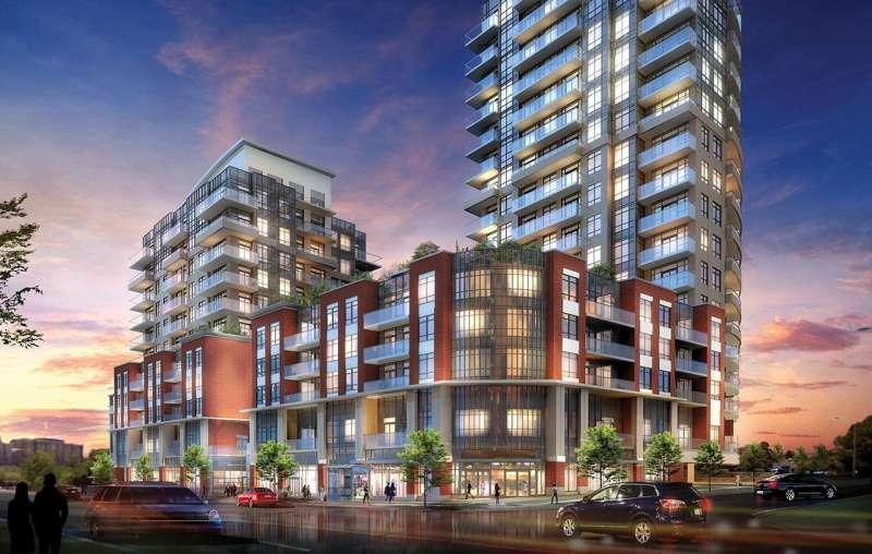 Perspective 2 at Eglinton Avenue West & Scarlett Road, Toronto, Ontario. Image 4