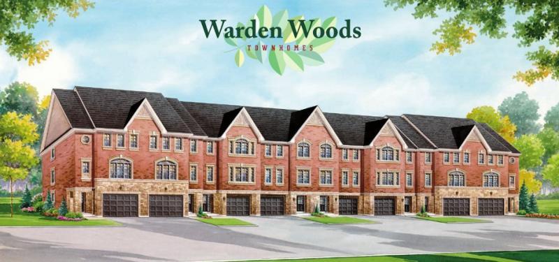 Warden Woods Townhomes at Pidgeon St & Winkler Terrace, Toronto, Ontario. Image 2