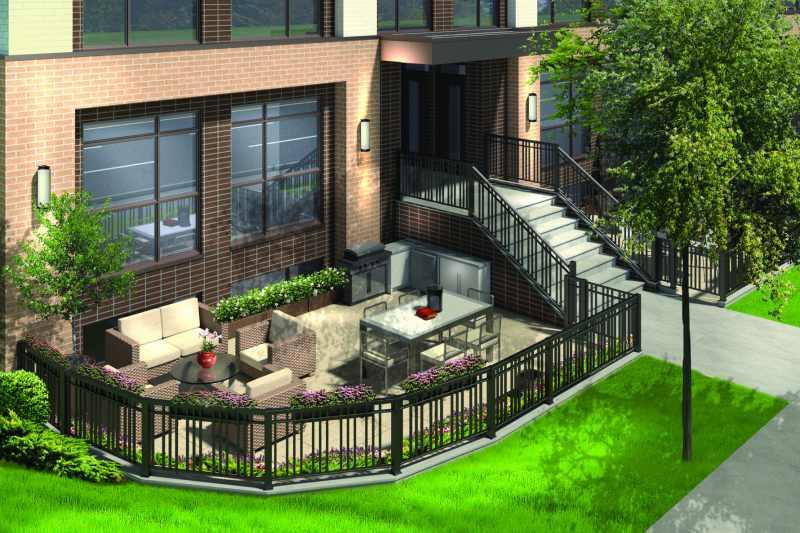 LA Courtyards at 639 Lawrence Avenue West, Toronto, Ontario. Image 1
