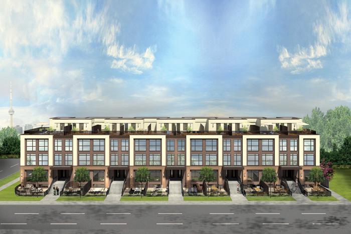 LA Courtyards at 639 Lawrence Avenue West, Toronto, Ontario. Image 7