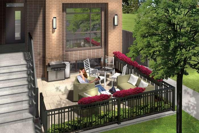 LA Courtyards at 639 Lawrence Avenue West, Toronto, Ontario. Image 10