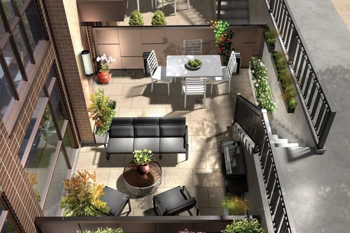 LA Courtyards at 639 Lawrence Avenue West, Toronto, Ontario. Image 11