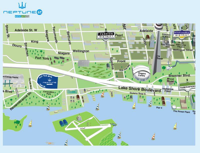 Neptune 2 - Water Park City Phase VI at 209 Fort York Blvd, Toronto, Ontario. Image 5