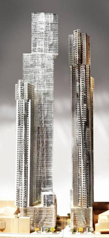 Mirvish+Gehry Toronto at King St W & Simcoe St, Toronto, Ontario. Image 1