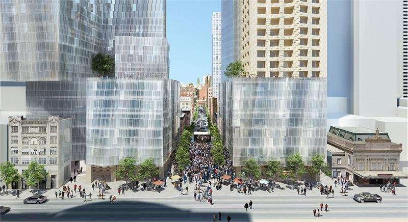 Mirvish+Gehry Toronto at King St W & Simcoe St, Toronto, Ontario. Image 3
