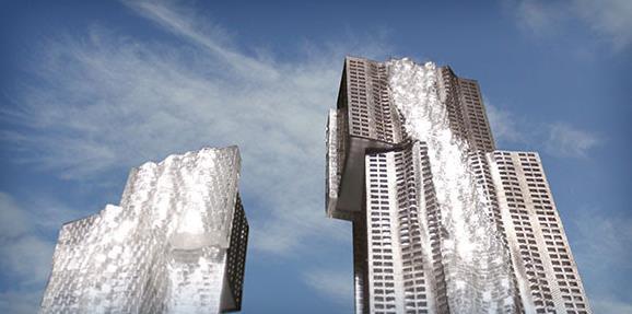 Mirvish+Gehry Toronto at King St W & Simcoe St, Toronto, Ontario. Image 4