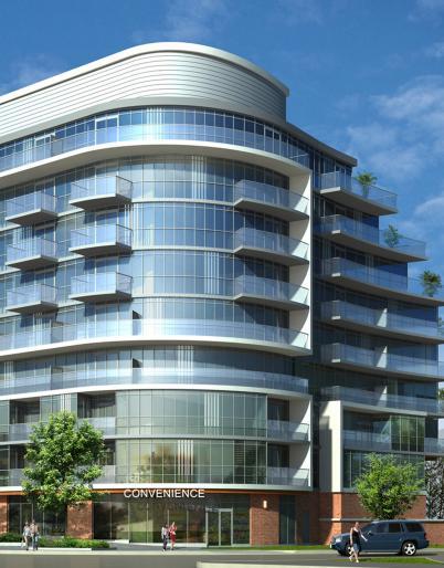 Dream Residences at Yorkdale at Dufferin Street & McAdam Avenue, Toronto, Ontario. Image 1