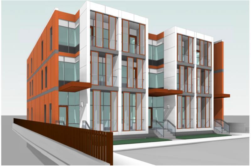 Dream Residences at Yorkdale at Dufferin Street & McAdam Avenue, Toronto, Ontario. Image 3