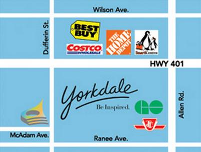 Dream Residences at Yorkdale at Dufferin Street & McAdam Avenue, Toronto, Ontario. Image 5