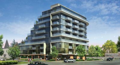Dream Residences at Yorkdale at Dufferin Street & McAdam Avenue, Toronto, Ontario. Image 6
