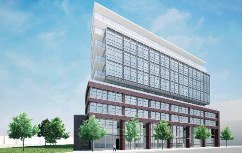 Work Lofts at 319 Carlaw Avenue, Toronto, Ontario. Image 2