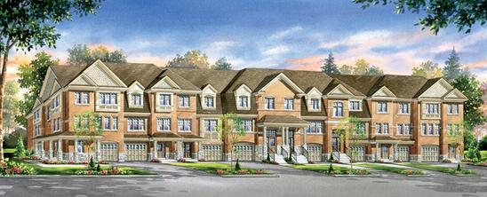 Turnberry Townhomes at Bovaird and Heart Lake Road, Brampton, Ontario. Image 2