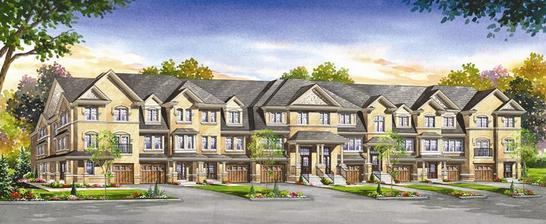 Turnberry Townhomes at Bovaird and Heart Lake Road, Brampton, Ontario. Image 3