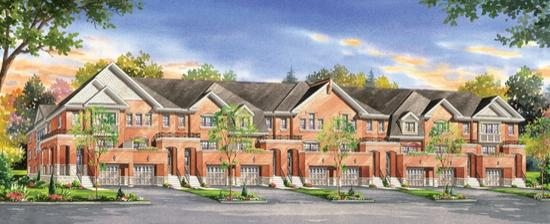 Turnberry Townhomes at Bovaird and Heart Lake Road, Brampton, Ontario. Image 4