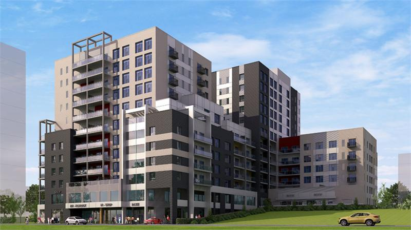 Sage VI Condominiums at 251 Hemlock Street, Waterloo, Ontario. Image 1