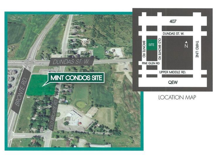 Mint Condos at Dundas St W & Bronte Rd, Oakville, Ontario. Image 2