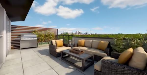 Oggi Boutique Townhomes at 5289 Highway 7, Vaughan, Ontario. Image 3