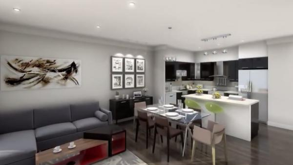 Oggi Boutique Townhomes at 5289 Highway 7, Vaughan, Ontario. Image 8