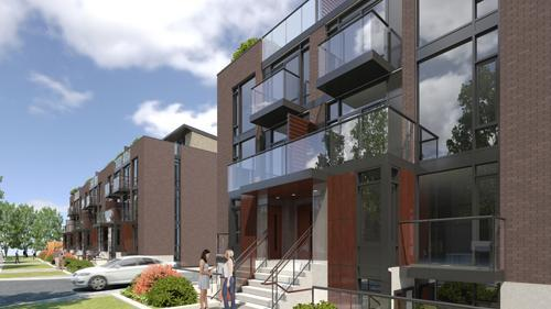 Oggi Boutique Townhomes at 5289 Highway 7, Vaughan, Ontario. Image 10