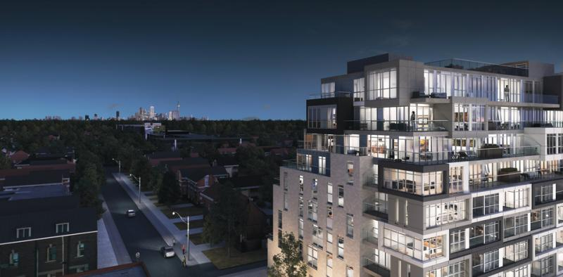 The Nest Condos at St. Clair Avenue West & Hendrick Avenue, Toronto, Ontario. Image 2