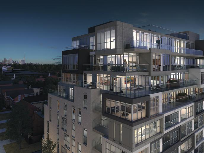 The Nest Condos at St. Clair Avenue West & Hendrick Avenue, Toronto, Ontario. Image 8