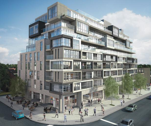 The Nest Condos at St. Clair Avenue West & Hendrick Avenue, Toronto, Ontario. Image 10