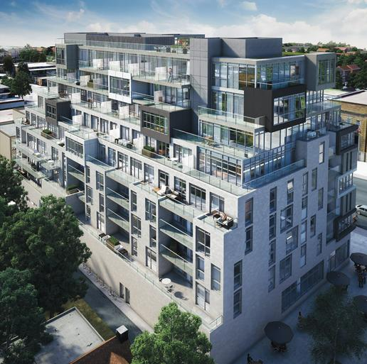 The Nest Condos at St. Clair Avenue West & Hendrick Avenue, Toronto, Ontario. Image 12