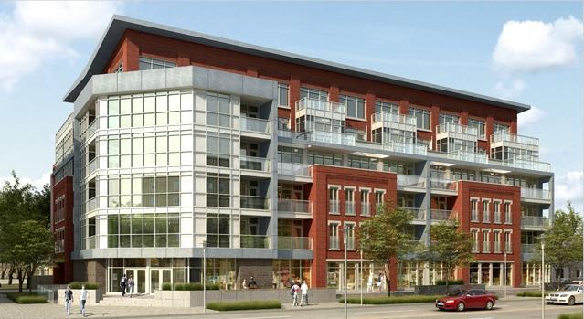 RED Condominium at 186 King St S, Waterloo, Ontario. Image 2