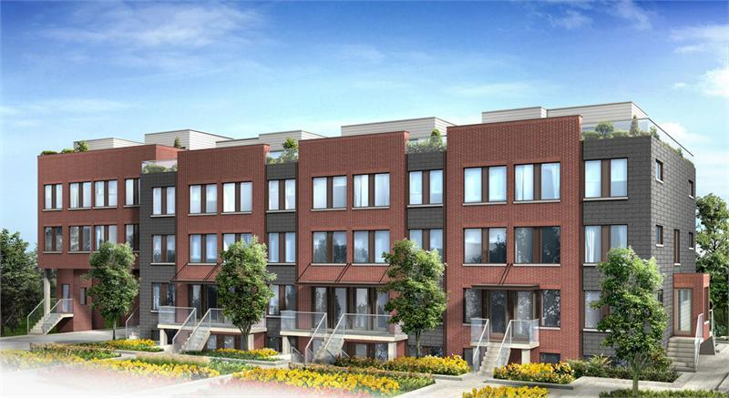 Yorkdale Village Townhomes Phase 2 at Wilson Avenue & Ancaster Road, Toronto, Ontario. Image 1