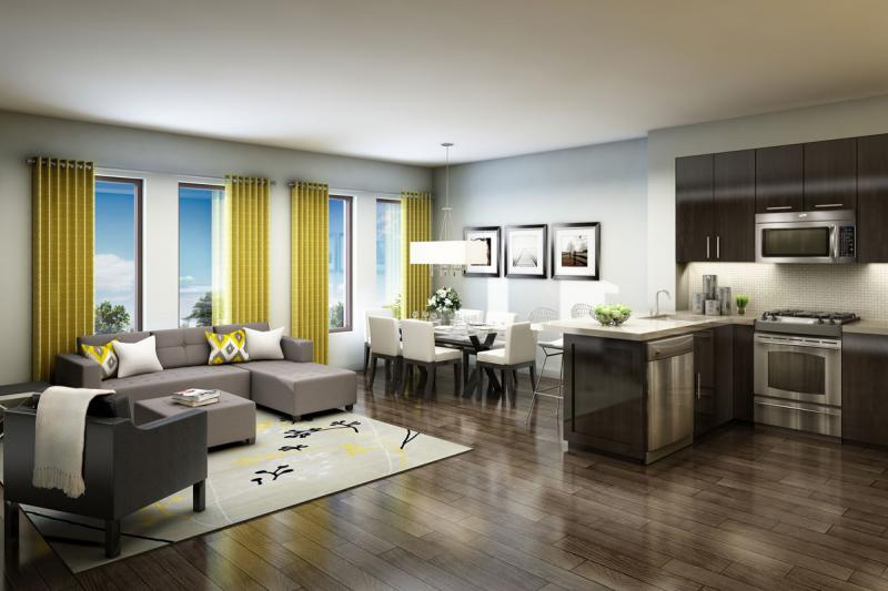 Yorkdale Village Townhomes Phase 2 at Wilson Avenue & Ancaster Road, Toronto, Ontario. Image 3