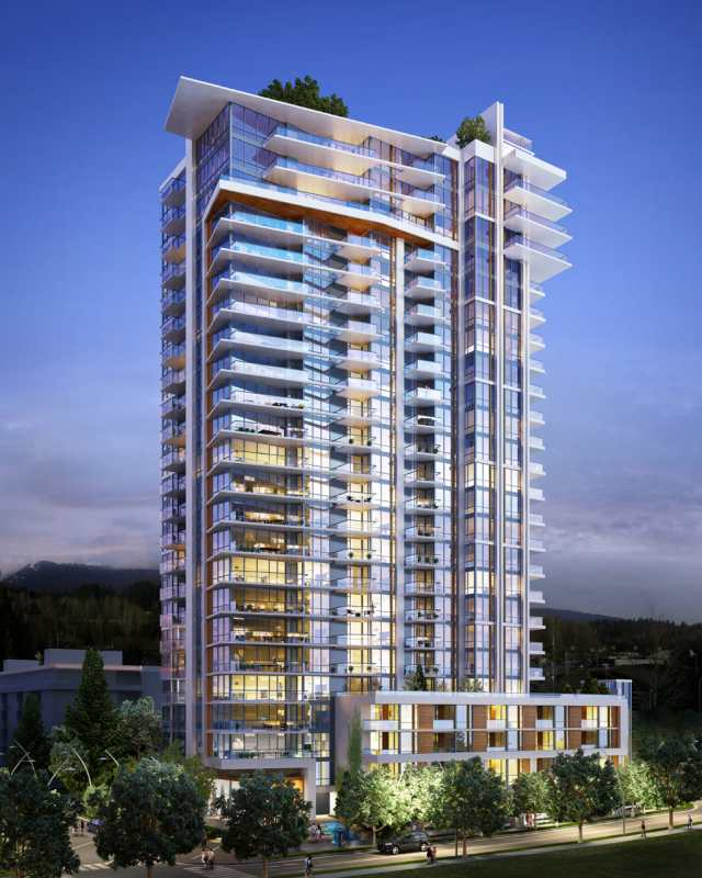 Seylynn Village- Beacon Tower at 600 Mountain Highway, North Vancouver, British Columbia. Image 4